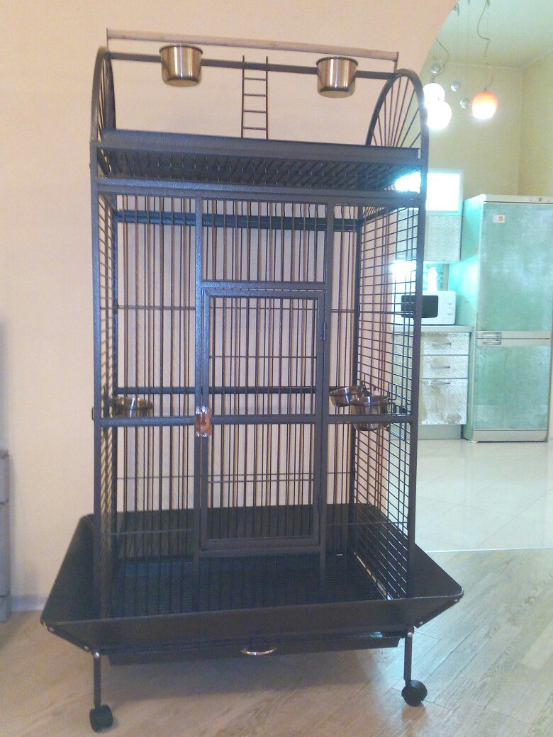 Sell new cage-aviary for large birds-210-SY 102*79*176 cm, Triol